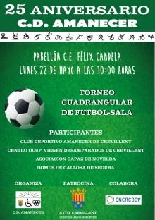 Torneo cuadrangular fútbol-sala organizado por el Club Deportivo amanecer
