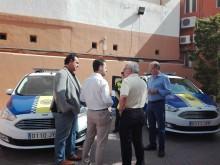 El Ayuntamiento pone en servicio dos nuevos coches patrulla para la Policía Local