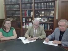 Ayuntamiento y Federación de Cofradías y Hermandades de Semana Santa firman el convenio correspondiente al año 2017•