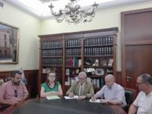 El Ayuntamiento de Crevillent y la Asociación de Moros y Cristianos San Francisco de Asís firman un convenio  de 60.044 € de ayuda municipal