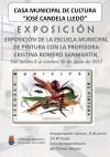 La Casa Municipal de Cultura acoge la exposición de las pinturas realizadas por el alumnado del Taller Municipal de Pintura