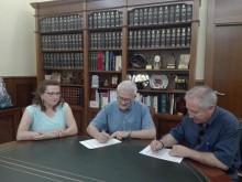 El Ayuntamiento y la Federación de Semana Santa firman un segundo convenio para la restauración de 7 grupos escultóricos de la Semana Santa