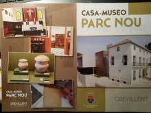 El Ayuntamiento de Crevillent edita un nuevo folleto de la Casa-Museo del Parc Nou