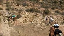 Trabajadores del Plan de Empleo Municipal están realizando trabajos de adecuación y excavación en Peña Negra