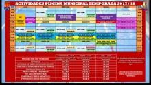 Actividades piscina municipal