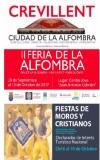 El Ayuntamiento inicia una campaña de promoción de las Fiestas Patronales y de Moros y Cristianos y de la Feria de Alfombra