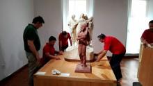 Regresan a Crevillent las obras de Mariano Benlliure expuestas en el Museo Regional de Arte Moderno de la Región de Murcia