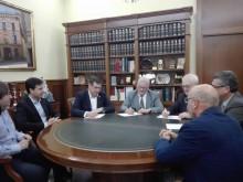 """El Ayuntamiento, la Cooperativa Eléctrica  y la Fundación Caja Mediterráneo firman un convenio de colaboración para impulsar el Centro de Educación Medio Ambiental """"Los Molinos"""""""