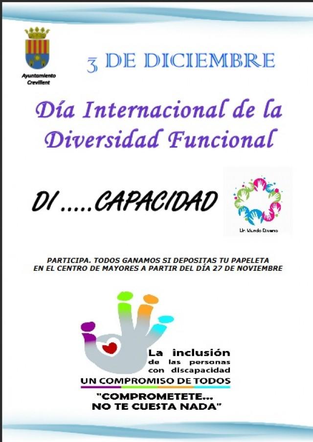 """La Concejalía de Bienestar Social  invita a  participar en la campaña de sensibilización    """"Dí…  capacidad"""""""