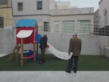 El Alcalde visita la obras finalizadas de la urbanización en Plaza  Sierpe y otras  calles