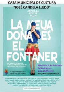 Teatre a la Casa Municipal de Cultura: La meua dona és el fontaner