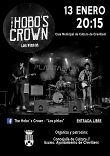 "Concierto de blues  a cargo de The hobo´s crown-""Los Pirlos"" en la Casa Municipal de Cultura"