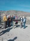 El Alcalde de Crevillent César Augusto Asencio y la Directora General de Patrimonio visitan Penya Negra, la antigua ciudad protohistórica de Herna