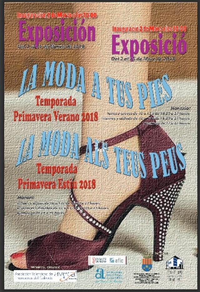 """El Centre Jove """"Juan Antonio Cebrián"""" acoge la exposición """"La moda a tus pies"""" con la representación de 43 empresas del sector del calzado"""