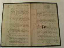 """EL Archivo Municipal """"Clara Campoamor"""" destaca """"La subasta de nieve efectuada en 1864"""" como documento del mes de febrero"""