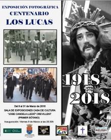 """La Banda de cornetas y tambores """"Los Lucas"""" celebra su centenario con la exposición de fotografías expuesta en la Casa Municipal de Cultura """"José Candela Lledó"""""""