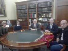 El Alcalde de Crevillent recibe a tres crevillentinos destacados por sus numerosos méritos