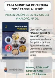 La Revista del Vinalopó nº20 será presentada el próximo jueves en Crevillent