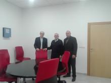 El Alcalde de Crevillent ha visitado esta mañana las nuevas instalaciones del Archivo Temporal Municipal