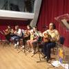 Los alumnos de la Escuela Municipal de Guitarra ofrecieron una audición como acto de clausura del curso 2017/2018