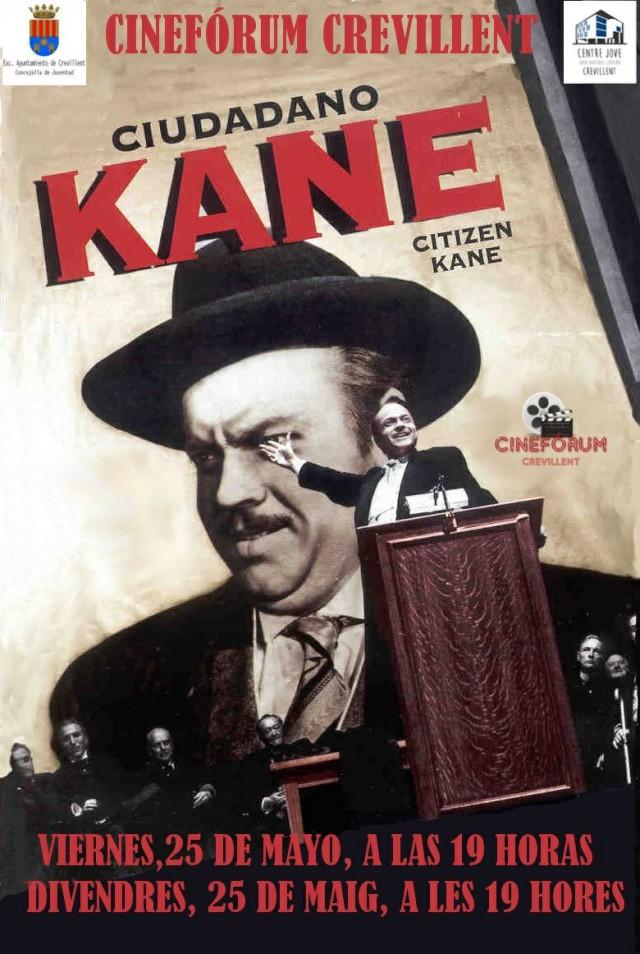 """Cinefórum Crevillent analiza el sensacionalismo del periodismo con la película """"Ciudadano Kane"""""""