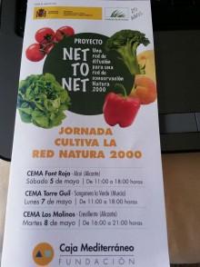 """El CEMA Los Molinos de Crevillent acoge la jornada """"Cultiva la Red Natura 2000"""""""