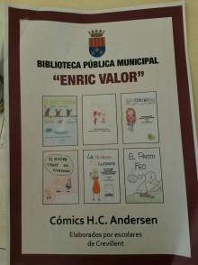 La Concejalía de Cultura presenta la revista con los cómics Hans Christian Andersen realizados por escolares de Crevillent