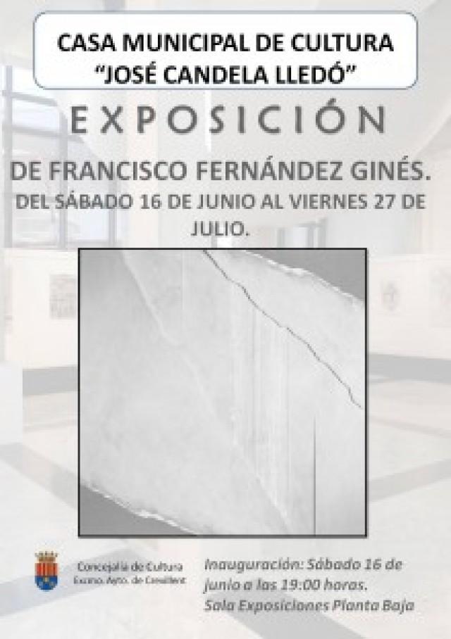 La Casa Municipal de Cultura presenta este sábado la exposición de fotografías de Francisco Fernández Ginés