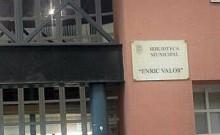 """Ya está en la calle el folleto informativo sobre la Biblioteca Municipal """"Enric Valor"""""""