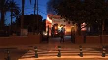 Las clases en el Colegio Francisco Candela han quedado suspendidas tras el incendio de ayer