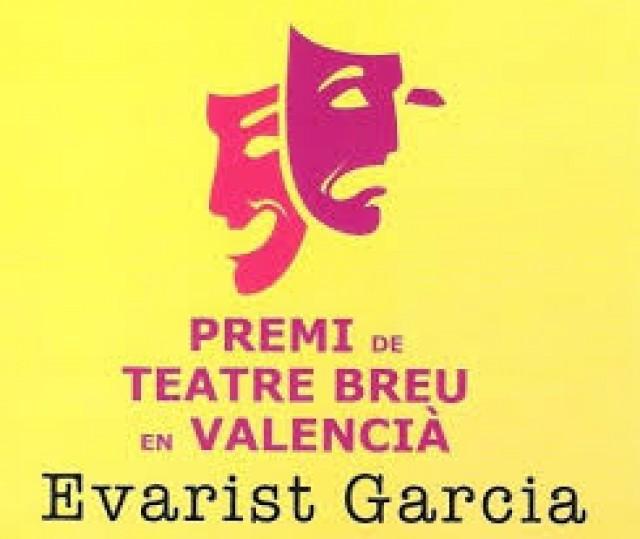"""Queden convocades les bases del Premi de Teatre Breu en Valencià """"Evarist Garcia"""""""
