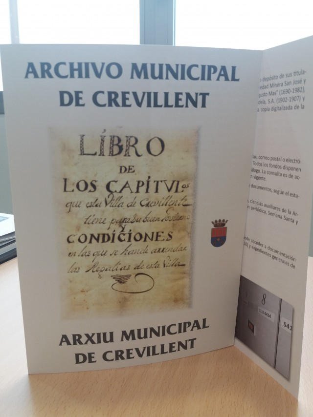 """El Archivo Municipal """"Clara Campoamor"""" publica una guía para darse a conocer"""