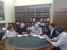 El Ayuntamiento , Cooperativa Eléctrica y la Federación de Semana Santa, firman el convenio de financiación y promoción del Museo de la Semana Santa por importe de 67.976 €
