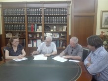 Ayuntamiento y Federación de Cofradías y Hermandades de Semana Santa firman el convenio correspondiente al año 2018     ·         El Consistorio subvenciona a la Federación con  24.114 €