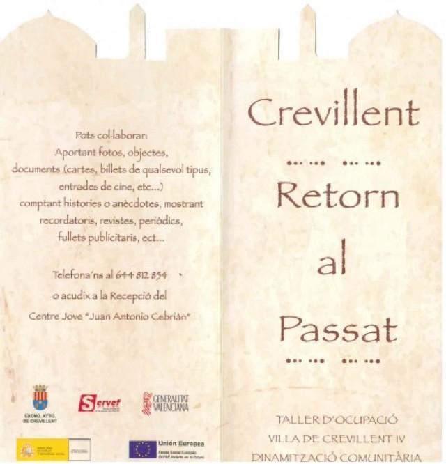 Los alumnos y profesoras del taller de Dinamización comunitaria están organizando una actividad para recordar el pasado de Crevillent