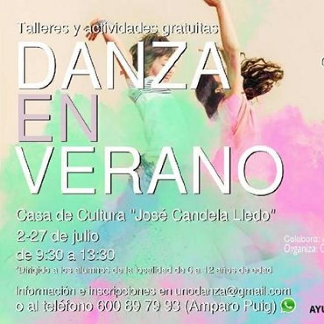 Comienza la escuela de danza de verano organizada por  la Concejalía de Educación del Ayuntamiento de Crevillent