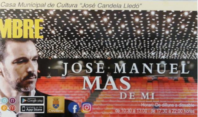 """La Casa Municipal de Cultura """"José Candela Lledó"""" presenta la programación de septiembre"""