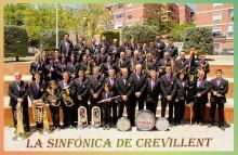 La Sinfónica de Crevillent actuará en directo este sábado en la Plaza de la Comunidad Valenciana