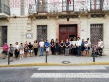 El Ayuntamiento se suma al minuto de silencio por la mujer asesinada el lunes en Orihuela