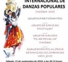 El Auditorio Municipal acoge la XXXIV edición del Festival Internacional de Danzas Populares de Crevillent