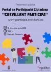 """Crevillent presenta su portal de participación ciudadana """"Crevillent participa"""""""