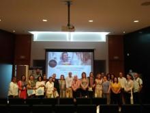 """Asociaciones, hostelería y  estudiantes han asistido hoy al taller """"Hospitalidad Mediterránea"""""""