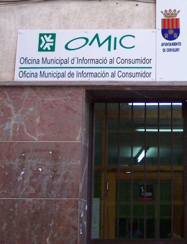 La Oficina Municipal de Información al Consumidor recibe una subvención de la Conselleria por valor de 3.660 €