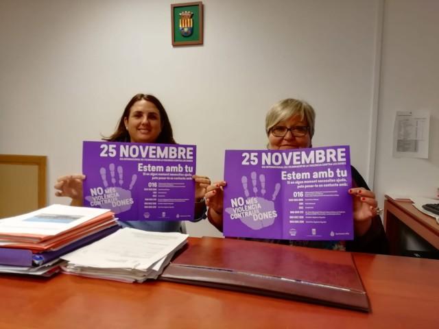 La Concejalía de Igualdad organiza varias actividades en la Plaza del Ayuntamiento el día 23  en conmemoración al Día Internacional Contra la Violencia de Género