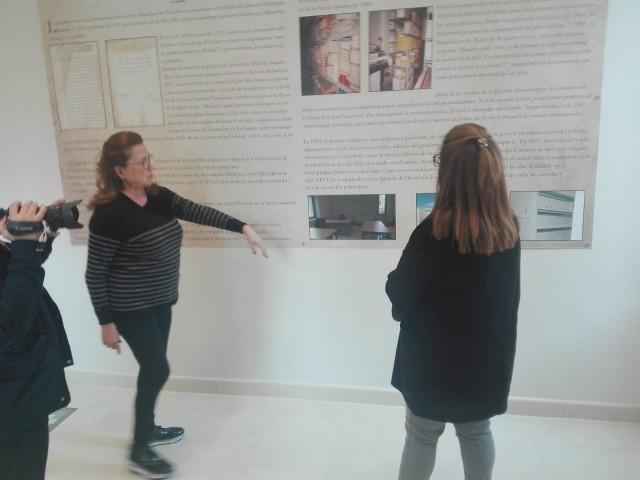 El Archivo Municipal instala dos paneles explicativos con la historia de los documentos que alberga