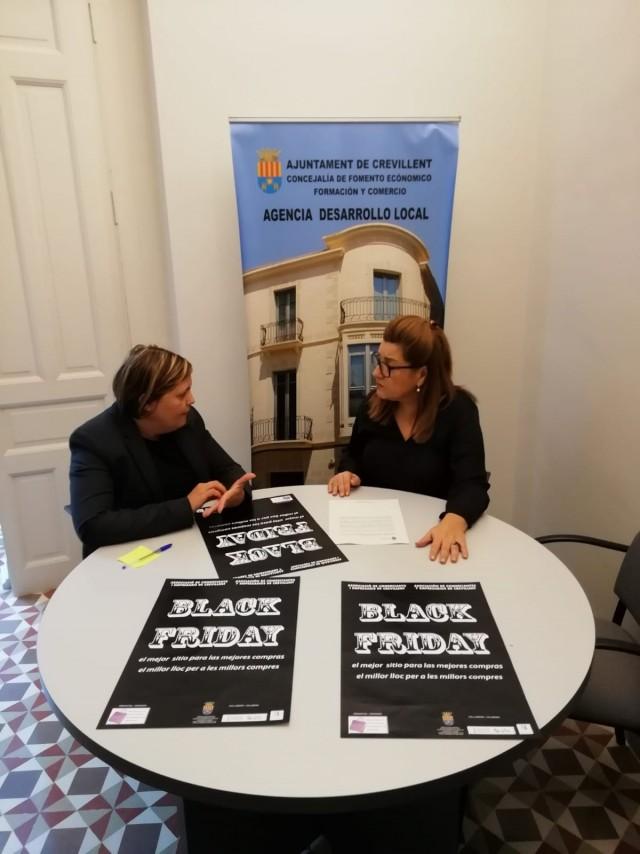 """La Asociación de Comerciantes y el Ayuntamiento organizan el """"Black friday"""" para impulsar el consumo local"""