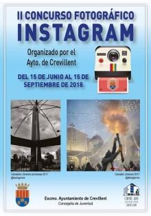 La Concejalía de Juventud del Ayuntamiento de Crevillent anuncia la entrega de premios del II Concurso Fotográfico de Instagram el día 14 de noviembre