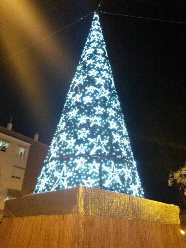 El 1 de diciembre tendrá lugar el encendido del árbol luminoso de Navidad instalado en la Plaza de la Comunidad Valenciana