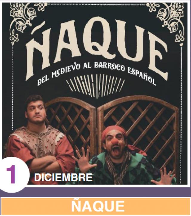 "La Casa de Municipal de Cultura acogerá el sábado la obra de teatro ""Ñaque"""