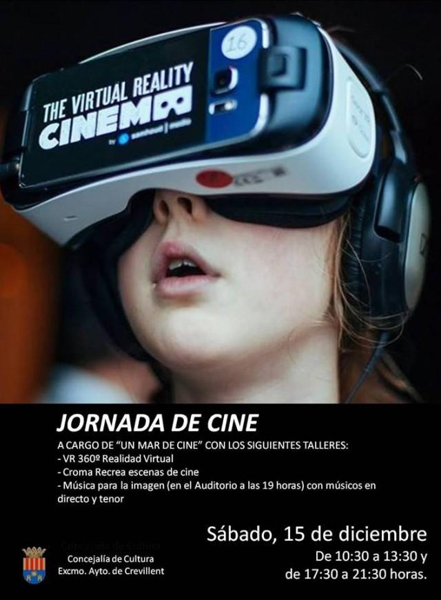 La Concejalía de Cultura organiza la I Jornada de Cine en Crevillent